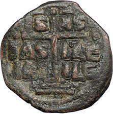 JESUS CHRIST Class B Anonymous Ancient 1028AD Byzantine Follis Coin CROSS i54968 https://trustedmedievalcoins.wordpress.com/2016/03/13/jesus-christ-class-b-anonymous-ancient-1028ad-byzantine-follis-coin-cross-i54968-2/
