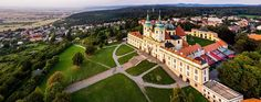 Monastery at St.Hill near Olomouc (North Moravia), Czechia Renaissance Architecture, Sacred Architecture, Owensboro Kentucky, Central Europe, Places Of Interest, Travel Agency, Pilgrimage, Dolores Park, Mario