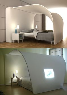 #coolbed #skybed #design #contemporary #bedroomfurniture #interiors #white