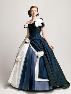 エマリーエ(EMarie) 紺白バラ