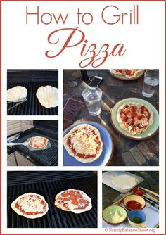 Homemade pizza night is a big hit at my house during the colder months, but who wants to turn the oven on in the middle of summer? Grilling Pizza is quick and easy. So keep your oven turned off and enjoy your pizza hot off the grill.