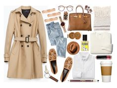"""Sin título #1017"" by miica-olavarria ❤ liked on Polyvore featuring Zara, Hermès, Tiffany & Co., Gucci, Madewell, Pull&Bear, Casetify, Georg Jensen, Wrap and Sisley"