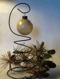 Do the top of bedspring tree like this...