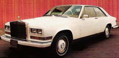 Rolls-Royce Camargue. It is a two-door coupé introduced in March 1975. The Camargue's body built in London by their coachbuilding division Mulliner Park Ward, was designed by automotive designer Paolo Martin at Pininfarina.
