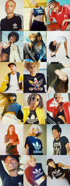 These pictures are kinda errrr, but Adidas :)