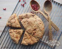 Чайная коврижка с ягодами годжи по Дюкану(постный рецепт)
