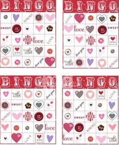 free printable valentine bingo pinterest heart bingo free