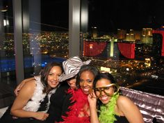 This couple had ShutterBooth Open at their Suite and used their view of Vegas as a fun backdrop!