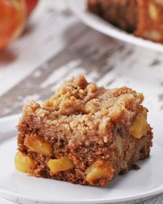Apple Pie Crumble Blondies