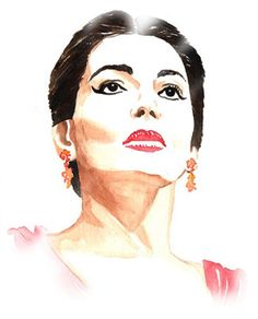 Maria Callas PNG | Omaggio a Maria Callas