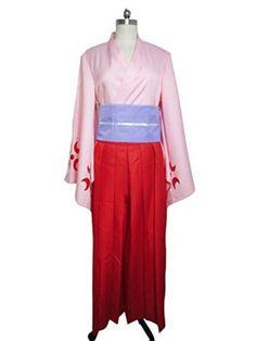 Amazon.com: Sakura Wars Cosplay Shinguji Sakura Costume Kimono: Clothing