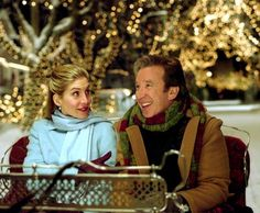 This is a dream to have a carriage ride like in the Santa Clause 2, with the beautiful christmas light and snow <3