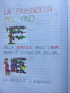 PARTENDO DALLA VENDEMMIA A... | Blog di Maestra Mile Cool Science Experiments, Science Fair Projects, Free Activities, Quizzes, Lesson Plans, Fun Facts, Preschool, Bullet Journal, Coding