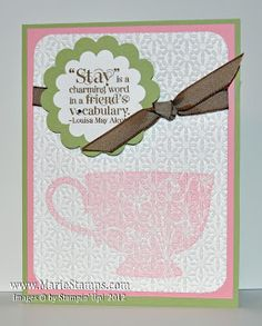 Stamping Inspiration: Thank You