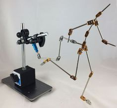 Malvern Armatures - Stop Motion Animation Armatures - Magnetic Rig Stand Assembly