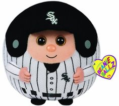 Ty Beanie Ballz MLB Chicago White Sox Large Plush * Click on the image for additional details.