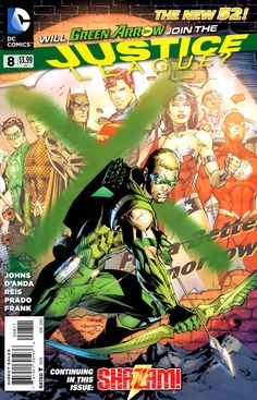 Justice League #8 - Justice League Team-Up: Green Arrow; The Curse of SHAZAM, Part 2 (Issue)