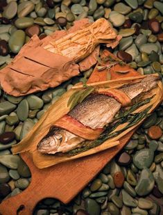 Prepare trout the Native way by baking it in clay. For centuries, Native peoples have been cooking with clay. In New Mexico, the most commonly used clay is probably micaceous, gathered locally and