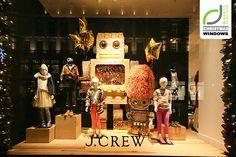 J.Crew Christmas Shop Windows London! J.Crew Christmas Shop Windows London! Photography: Jamniczky Norbert Image courtesy of Retail…View Pos...