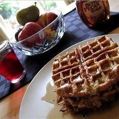 """French toast that looks like a waffle!"""