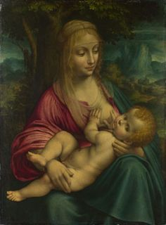 The Virgin and Child by a Follower of Leonardo da Vinci, after 1510