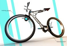 Swiss Cheese Concept Bikes #bike #bicycle