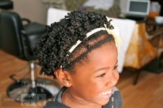 Two-Strand Twisted Rod Set   Chocolate Hair / Vanilla Care #naturalhair #hairstyle