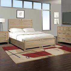 Cresent Furniture Hampton Panel Customizable Bedroom Set & Reviews | Wayfair