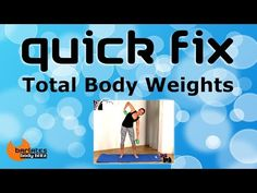 FREE TOTAL BODY WEIGHTS INTERVAL HIIT WORKOUT - Quick Fix Total Body Weights BARLATES BODY BLITZ - YouTube