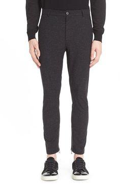 LANVIN Nep Wool & Silk Moto Pants. #lanvin #cloth #