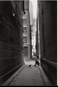 "Henri Cartier Bresson - ""Down Town, New-York"", 1947 (*)"