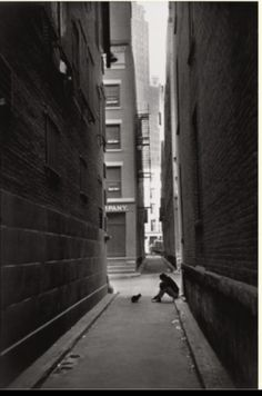 "Henri Cartier Bresson - ""Down Town, New-York"", 1947 (*)"
