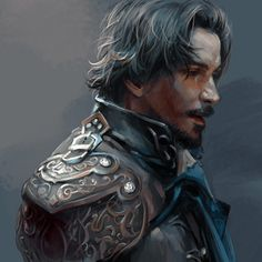 Aramis from BBC The Musketeers