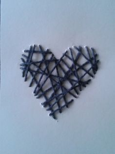 Creatief ^^ Blue Hearts, Stitches, Crafts For Kids, Hair Accessories, Sew, Nice, Creative, Cards, Gifts
