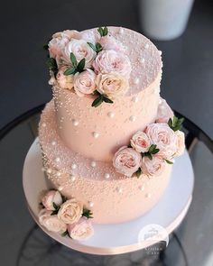 can find Sweets treats and more on our website. Elegant Birthday Cakes, Pretty Birthday Cakes, Elegant Wedding Cakes, Beautiful Wedding Cakes, Wedding Cake Designs, Pretty Cakes, Cute Cakes, Beautiful Cakes, Sweet 15 Cakes