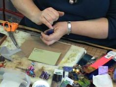 Friendly Plastic UK foiling technqiue wit Liz Welch