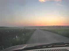 Dusty road ahead
