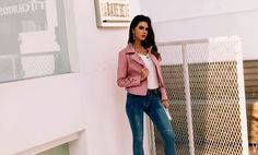"""f9c6ff76c Fashion Genie Boutique on Instagram: """"We love a badass biker jacket to  layer over anything and everything 😍 Shop LOVE GENERATION with the link in  the bio"""""""
