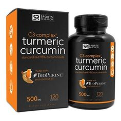 #Turmeric Curcumin C3 Complex Liquid Softgels contain 500 milligrams of curcuminoids, an anti-inflammatory and antioxidant compound derived from curcumin, the ye...