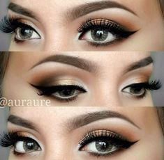 Perfect eye makeup look for the holidays