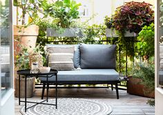 Outdoor Sofa, Outdoor Furniture Sets, Outdoor Decor, Amsterdam, Balcony, Love Seat, Loft, Couch, Home Decor