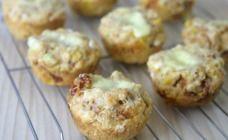 Corn and cheese savoury muffins
