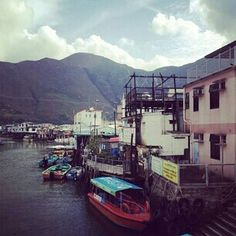 LY TANNN. FISHING VILLAGE. HONGKONG. TAIO