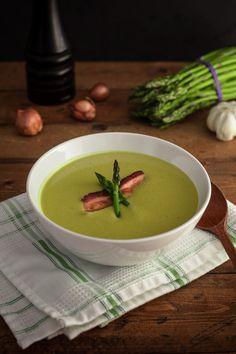 Asparagus & Bacon Soup | Goodies à Volonté