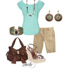 Simple, taken up a notch, created by cbrile on Polyvore