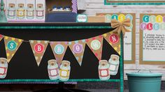 Shabby chic classroom by teacher created resources (their complete lineup of products)
