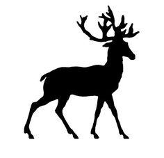 animal silhouettes god-jul