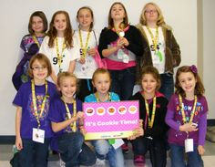 Girl Scouts take part in Cookie College at the NO Nelson Campus