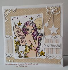 Nins Handmade Cards: Sweet Pea Stamps