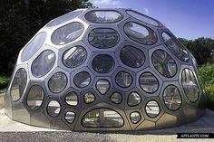 Spaceplates Greenhouse   Krøyers Plads, Copenhagen, Denmark   by N55 and Anne Romme